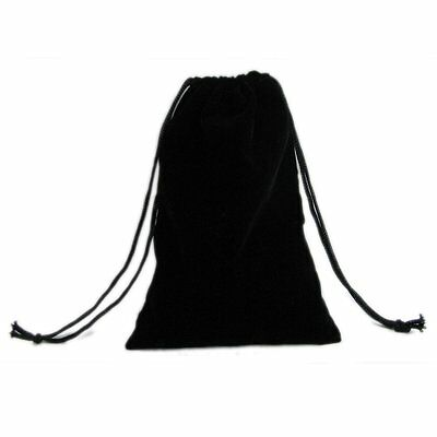 """100 x Black Velvet Square Jewelry Packaging Pouches Gift Bags Wedding 5"""" x 8.5"""""""