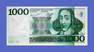 NETHERLANDS - 1000 GULDEN 1972s - Reproductions - See description!!