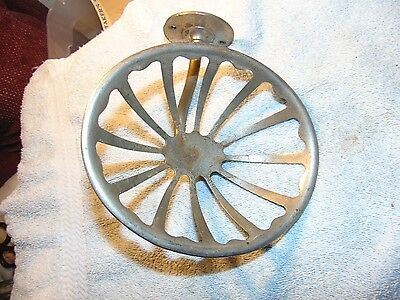 Vintage Brass Heavy Duty Industrial Old Soap Sponge Dish Bathroom Fixture
