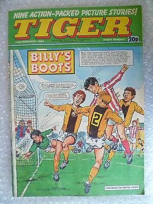 Comic- Tiger , 11th Feb 1984- BILLY'S BOOTS