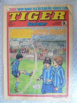 Comic- Tiger and Scorcher, 24th March 1979- Billy's Boots