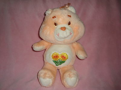 "Care Bears Vintage Kenner Plush Friend Bear carebear 13"" 1983"