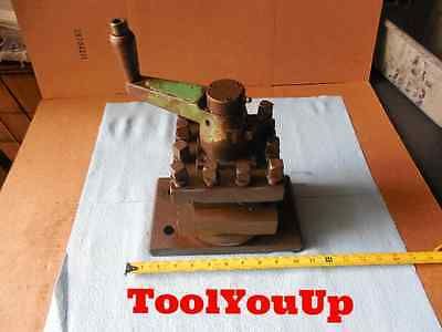 "Indexable Turret Lathe Tool Post Holds 1 3/4"" Or Smaller Tools 4 Position 5 1/2"""