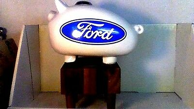 old FORD CERAMIC DEALER PIGGY BANK 1960'S