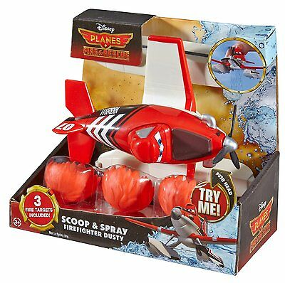disney planes fire and rescue scoop spray firefighter