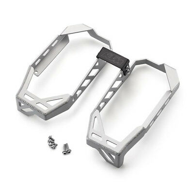 KTM Genuine Aluminium Radiator Braces - Up To 2016 77735936244 SX EXC