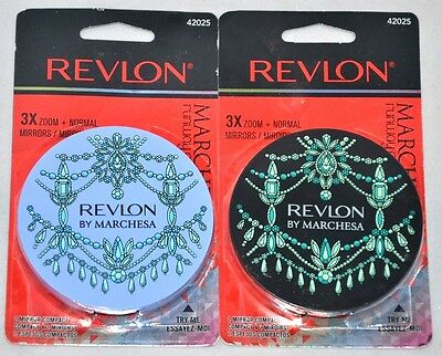 97ab07346b NEW Revlon By Marchesa 3X Zoom + Normal Mirror Runway Collection 42025  CHOOSE