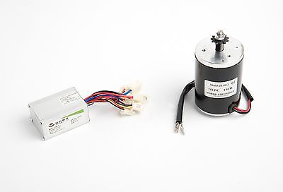 150W Electric Motor 150-GM150115 w Sprocket & Speed Controller f scooter Razor