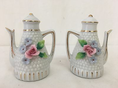 Vintage Salt and Pepper Shakers Teapots
