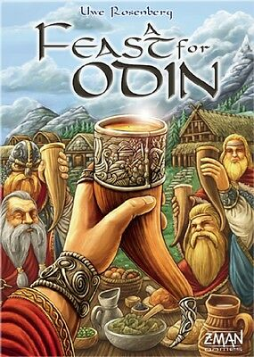 Z-Man Games: A Feast for Odin game (New)