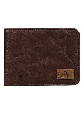 Quiksilver™ Round Up - Leather Wallet - Cartera - Hombre - L - Marrón