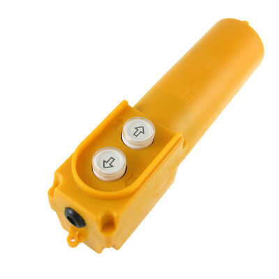 Rainproof Hoist Crane Pendant Pushbutton Switch Station Up-Down