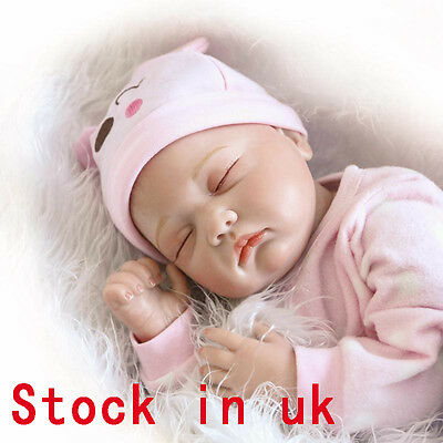 "22"" Reborn Baby Silicone dolls Lifelike Newborn Doll Baby Christmas Gifts Toys"