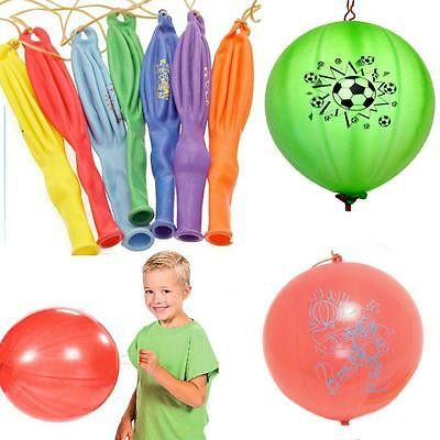 50PCS Large Punch Ball Balloons with Elastic Party Bag Fillers Pinata Kids Toys