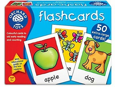 Educational Flash Cards Education Game Orchard Toys Flash Cards Baby Toddler
