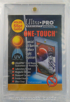 Ultra Pro Specialty Series One Touch 55pt Magnetic Closure Ultra Clear Brand New