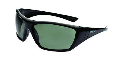 Bolle HUSTLER Smoke shaded anti fog / scratch safety glasses FREE storage pouch
