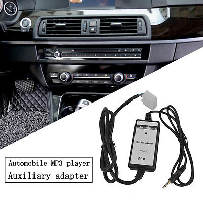 Vehicle Car MP3 Player Radio Interface AUX In Adapter For Lexus 5+7 Pin Plug AU