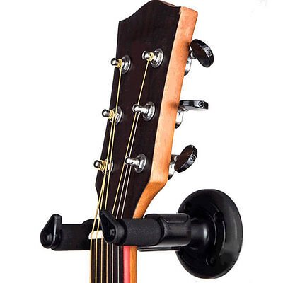 Electric Guitar Wall Hanger Holder Stand Rack Hook Mount For Various Size AU