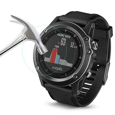 Explosion-Proof 9H Hardness Tempered Glass Film Protector for Garmin Fenix 3 HR