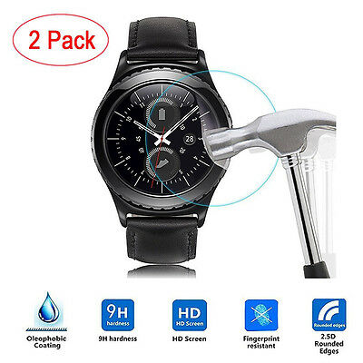 2PC Anit-scratch Frosted Scrub Screen Protector Film For Samsung Gear S3 Classic