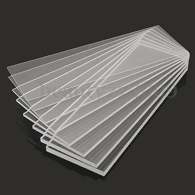New 1-10mm 100x300mm Acrylic Perspex Sheet Cut to Size Panel Plastic Satin Gloss