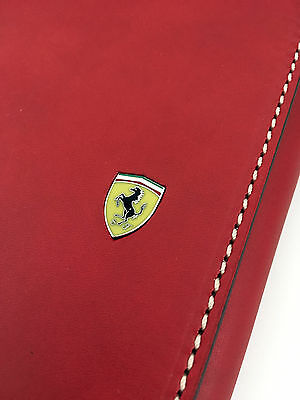 Ferrari 'cliente' agenda, factory issue, leather, F1 provenance, 2017 Diary VGC