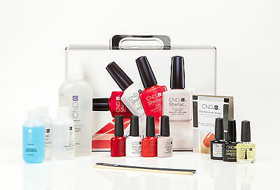 CND Shellac Chic Collection Beginners Starter Pack/Set/Kit inc 4 Lovely Colours
