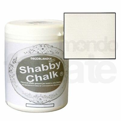 Shabby Chalk Latte ml 500 - Vernice Decorlandia - Colore Pittura stile S. Chic