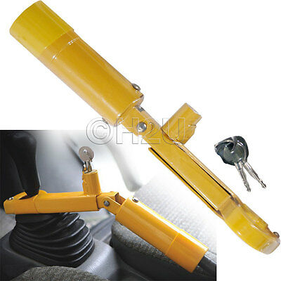 H/duty Handbrake Security Car Van Gear Shift Lock Wheel Anty Theft Clamp