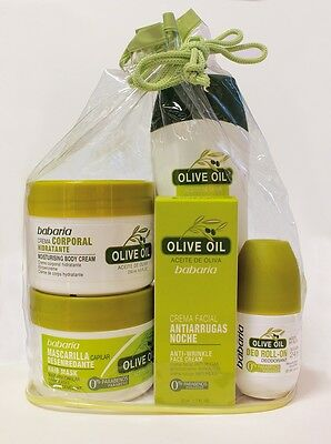 Babaria Olive Oil 5 Piece Gift Bag