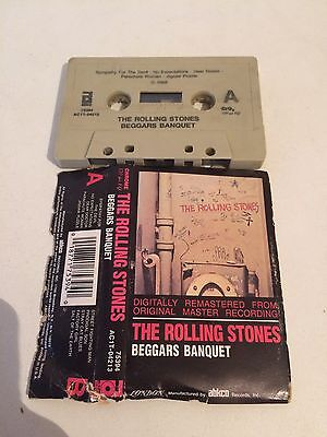 The Rolling Stones Beggars Banquet MC cassetta tape Abkco