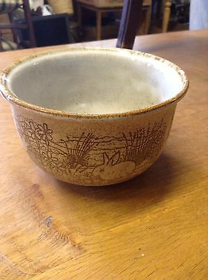 Art Pottery Planter With Rabbit Design