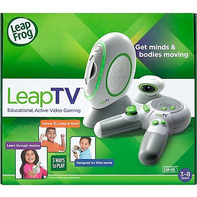 LeapFrog Leap TV: Educational video gaming console (LeapTV, Leap Frog) SF