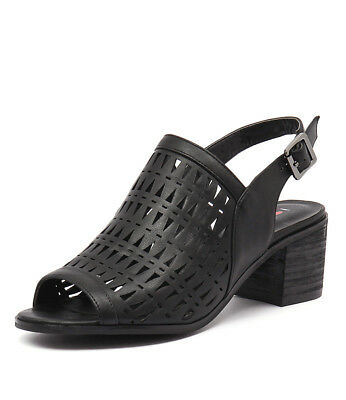 New I Love Billy Skittle Black Womens Shoes Casual Sandals Heeled