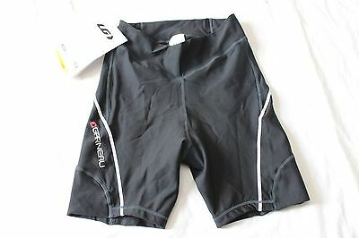 New Louis Garneau Women's Bike Speed Hug Cycling Shorts Medium Black Base Layer