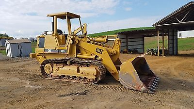 1990 Caterpillar 963 OROPS Track Loader Diesel Engine Construction Hydraulic Cat