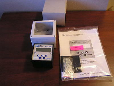 New Badger Meter 3000 Series flow monitor data industrial with wall mount
