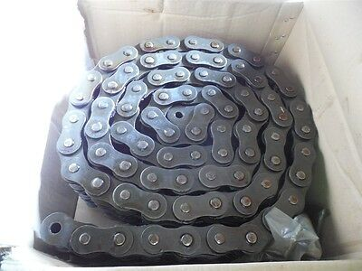 NEW Renold 120A3 120-3 10 Foot Riveted Roller Chain