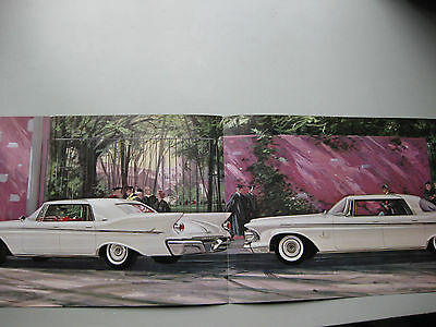 Chrysler Imperial prestige brochure Prospekt English language 1961