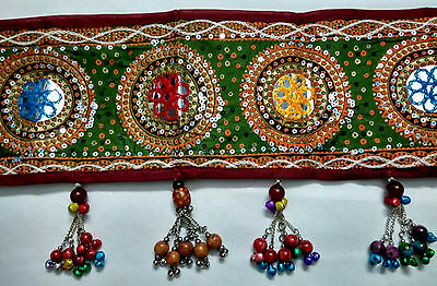 Febric Kuchi Belt Base Gul Belly Dance Hip Scarf Jewelry Embrodery Tribal Afghan