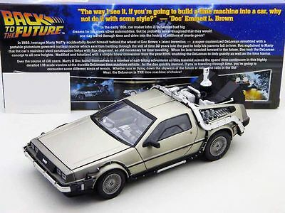 1981 DeLorean Back to The Future Part II Diecast Model by Sunstar in 1:18 Scale