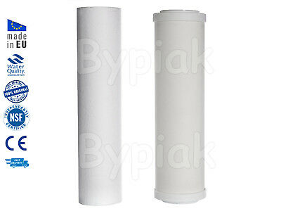 New 2 Stage Ceramic Water Filter Replacement Home Drinking Water Filters 10""