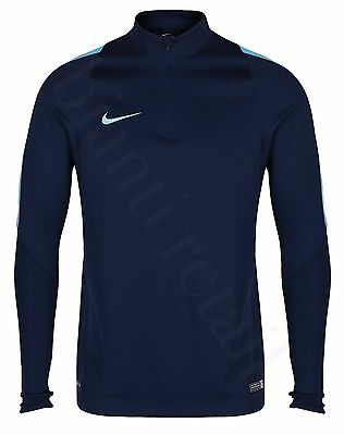Nike Dri-Fit Football Mens 1/4 Zip Long Sleeve Training Top