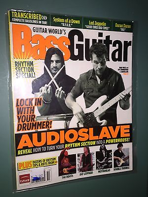 "Bass Guitar Magazine[Oct 2006]Audioslave ""Lock in with Your Drummer""Rhythm Tips"