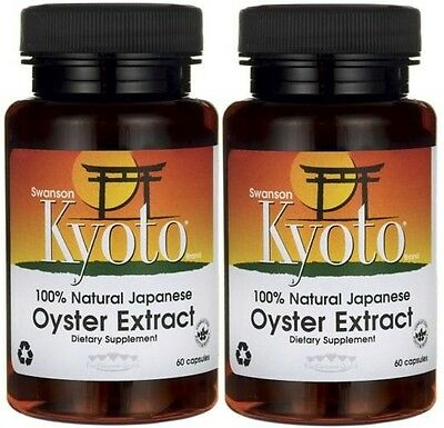 2X 100% Natural Japanese Oyster Extract 500 mg x 60(120)Capsules - 24HR DISPATCH