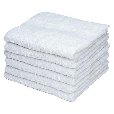 48 pack white hand towel 15x25 hotel spa and home washable royal touch brand