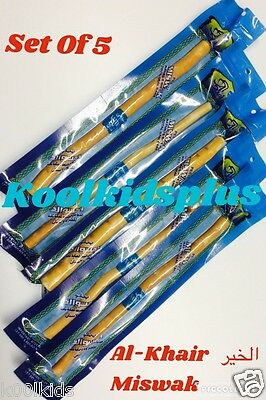 5 x 8'' AL-KHAIR MISWAK, FROM PEELU (AL-ARAK) TREE, SIWAK MISWAK, DENTAL CARE