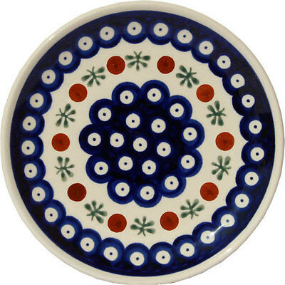 Polish Pottery Plate 6.5 Inch from Zaklady Boleslawiec Polish gu818/41