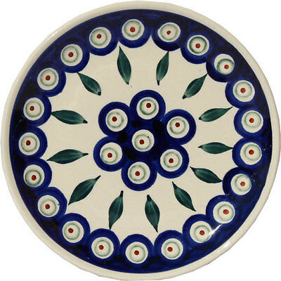 Polish Pottery Plate 6.5 Inch from Zaklady Boleslawiec Polish gu818/56